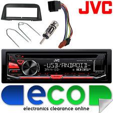 Peugeot 406 1995-2005 JVC CD MP3 USB Aux Ipod Car Stereo Radio Facia Fitting Kit