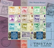 Tristan da Cunha 2015 The Potato Essay 10v sheet MNH