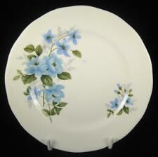 Queen Anne Blue Flowers Bone China Side Plate