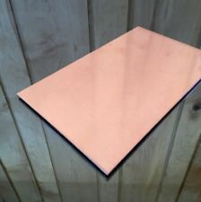 """1/8"""" COPPER SHEET PLATE NEW 6""""x10"""" .125 THICK *CUSTOM 1/8 SIZES AVAILABLE*"""