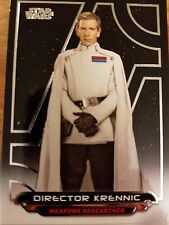 2017 Star Wars Galactic Files Reborn #RO-6 Director Krennic NrMint-Mint
