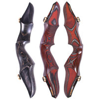 """ILF 15"""" Recurve Bow Riser Wooden Takedown American Hunting Bow Archery Shooting"""