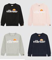 Ellesse Kids Girls Long sleeves crew neck Fleece Warm Sweatshirt Jumper Top 5-14