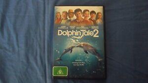 Dolphin Tale 2 Morgan Freeman - DVD - Region 4 - Free Postage