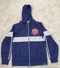 Real Salt Lake Adidas Full-Zip Hoodie Navy/Gray  With Logo  MLS Sz M EUC
