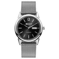 Relojes de pulsera Ingersoll Rand de acero inoxidable de día y fecha