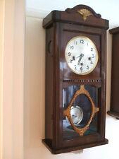 Vintage Wooden Antique Clocks with Pendulum/Moving Parts