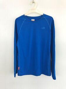 ICEBREAKER MERINO 13-14 Years Kids' Basic Layer Thermal Shirt Merino Wool