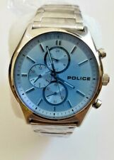 Police Wrist watch 15510-31876  HOLDEN Stainless steel with Blue Mineral glass