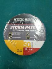 Kool Seal Storm Patch Flexx Sealer Leak Repair 18-110 lot of 3 Rolls