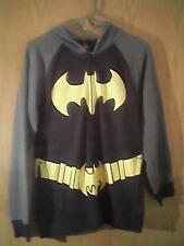 TM/DC Comics Batman unisex hoodie, L , Multi - color, cotton/polyester, chest 38