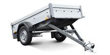STEMA Pkw Anhänger FT 7.5 750 Kg 201x108x33cm 13Zoll 100KM/H Freigabe kippbar