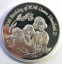 Pitcairn 2006 Queen Birthday Dollar Silver Coin,Proof