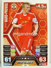 Match Attax 2013/14 Premier League - #244 James Ward-Prowse - Southampton