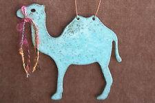 CAMEL Copper Verdigris Christmas Ornament Handcrafted Arizona Southwest Nativity