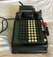 Burroughs 8 Column Adding Machine Antique Mechanical Industrial Store Calculator