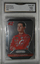 2016 PANINI PRIZM KYLE LARSON CARD #36 GEM MT 10 BY GMA SHIPS FAST NICE CARD
