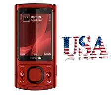 USA ! Red NOKIA 6700 Slide 3G 5MP 60MB Unlocked T-Mobile&AT&T Slider Phone