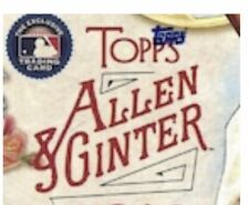 2017 topps allen & ginter hot box foil you pick complete your set