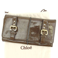 Auth Chloe purse double belt unisexused J18654