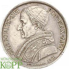 H208) ITALIEN VATIKAN Scudo AN I/1831 B, Bologna Gregor XVI., 1831-1846