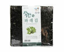 Premium 100 Sheets Korean Dried Laver Parae Seaweed for Sushi, Gimbap