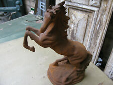 Pferdeskulptur,  Pferdebüste, Pferd, Eisen, Wildpferd, Reiter,