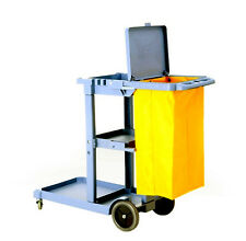 Commercial Housekeeping Janitorial cart with cover And Vinyl Bag AF08170A