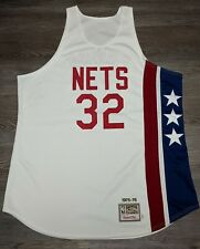 Authentic Julius Dr J Erving New York Nets Mitchell & Ness jersey Men 54 XXL USA