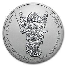 2018 Ukraine 1 Hryvnia Archangel Michael 1 oz .9999 Silver Coin