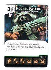 Marvel Dice Masters AOU, Rocket Raccoon Weapons Expert 97/142 W/Dice