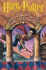 HARRY POTTER AND THE SORCERERS STONE BOOK COVER ART. 24X36 POSTER