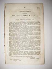 ANTIQUE 1841 ALBURG VERMONT CANADA GROGAN CASE AFRICA MARITIME BOOK HISTORY RARE