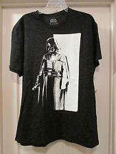 DARK VADER Men's STAR WARS-Black T-Shirt. Size XL. New With Tag.