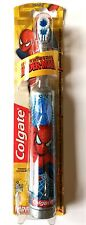 Colgate SpiderMan 3+ Years Battery Operated kids Children Toothbrush - Blue