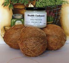 Aceite De Coco Prensado En Frío 330ml-salud Embajada-Manteca De Coco aceites orgánicos