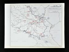 West Point WWII Map Russia Ukraine German Summer Offensive Stalingrad Rostov