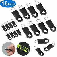 16Pcs Zipper Fixer Repair Pull Tap Pants Bagages Bottes Jupes