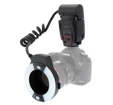 US Meike MK-14-EXT E-TTL Macro TTL ring flash AF assist lamp For Canon 70D 80D