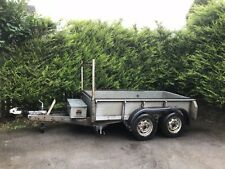 ifor williams gd84,8x4 twin axle, plant trailer,mini digger trailer used
