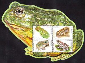 Namibia 2011 MNH Odd unusual Frog Shape SS, Frogs, Amphibians
