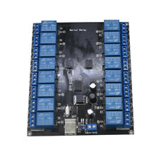 Quality 16 Channel 9 36v Usb Controlled Spdt Relay Module Opto Isolated Board