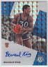 2019-20 Panini Mosaic Knicks Bernard Kings Autographs Silver Mosaic Prizm Auto