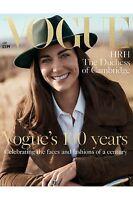 VOGUE BRITISH June 2016 Kate Middleton HRH DUCHESS OF CAMBRIDGE 100 Years NEW