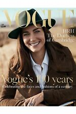 VOGUE BRITISH June 2016 Kate Middleton HRH DUCHESS OF CAMBRIDGE 100 Years NEW
