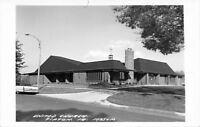Tipton Iowa~United Church~1960s Car~Real Photo Postcard~RPPC