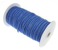 20 Meter Samtband Blau 6mm Samtborte Borten & Bänder Zierband BEST C187
