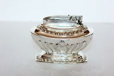 """Vintage Silverplate Ronson """"GEORGIAN""""  Table Lighter in Working Condition"""
