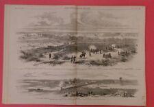 Civil War Frank Leslie's 7/19/1862 War in Virginia Lee Jackson McClellan