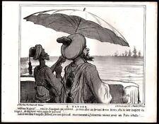 Honoré Daumier. A Tanger, les Espagnols arrivent. 1859.
